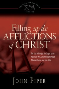 Filling Up the Afflictions of Christ Cover