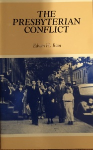 The Presbyterian Conflict Cover