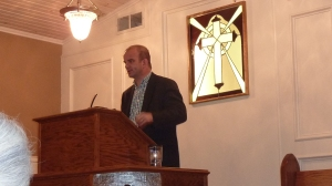 "Dr. Carl Trueman speaking on ""Reformation Creeds for Today"" at DFW Reformation Conference 2014 at Mid-Cities Presbyterian Church"