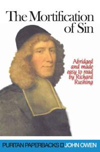 Mortification of Sin Cover
