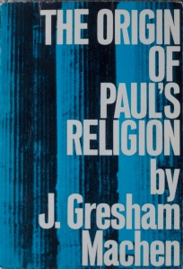 Cover Origin of Paul's Religion